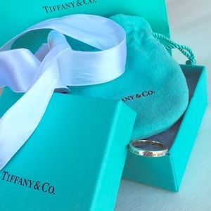 Tiffany & Co.  ||  i love you stackable ring